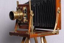 Antikinės foto kameros