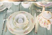 A Summer Afternoon Tea Party - Styling your conservatory