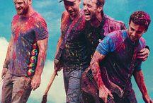 Coldplay / British band Coldplay appreciation and related pins.