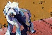 Dog art / by Ellen Mahnken