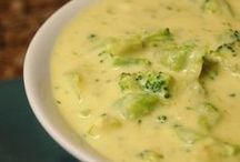 Soups / to take away those winter chills ...