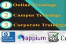 Online Trainings_Software Testing_Automation testing / Are you looking software testing training course? Always touch at Globalsqa one of the leading provider of manual, functional & automation testing training.  Online training,Platform & Database Testing,Component & Unit Testing,Functional Testing,Mobile Testing, Outsource Testing.