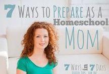Homeschool Tips + Tricks + Ideas