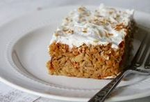 Carrot Cake / All things Carrot Cake. So many different healthy variations of my favorite dessert.