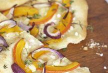 Rezepte - Flammkuchen und Pizza