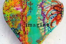 I Heart  / #creative, #whimsical, #pretty, and more #hearts