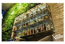 Vertical gardens / Our vertical garden projects