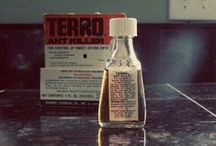 Vintage TERRO / TERRO has been helping homeowners battle pests since 1915! Here's a look at some #vintage packaging!