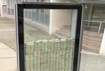 Kreatív hirdetések buszmegállókban