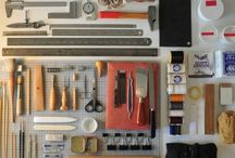 The binder's workbench / by Sago on Tuesdays by Sonya Macdonald