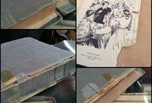 Book repair & restoration / by Sago on Tuesdays by Sonya Macdonald