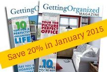Coupons/special offers from Getting Organized Magazine / Coupons and special offers from Getting Organized magazine / by Getting Organized Magazine