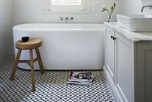 b a t h r o o m s / bathrooms to relax in