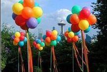 Party - Balão e Arco-íris