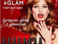 Gellux 'Glitz & Glam' Collection / 8 party ready shades