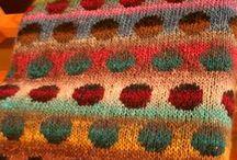 Crochet, knit & sewing