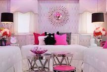 Pink And Other Colorful Decor / by Nadine German