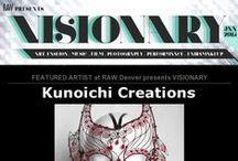 Events / Kunoichi Creations' vending schedule