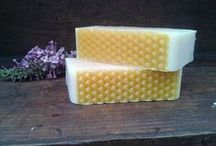 Soapmaking with honey & beeswax