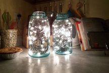 Fun with/ Jars / Mason Jars