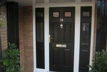 Solidor - Tenby Composite Door from Timber Composite Doors / Real Doors, real homes featuring the  Tenby Timber Core Composite Doors #timbercompositedoors #solidor #compositedoors http://www.timbercompositedoors.com