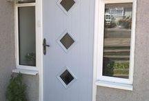Solidor - Flint Composite Door from Timber Composite Doors / Real Doors, real homes featuring the  Flint Timber Core Composite Doors #timbercompositedoors #solidor #composite doors http://www.timbercompositedoors.com
