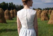 Free Tutorials for Heavy Weight Linen Fabric (4C22) / Go to www.fabrics-store.com to shop fabric / by Fabrics-store.com