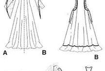 keskiajan vaatteet