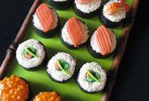 Sushi Creations / Seafood,nori,caviar,rice