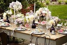 T A B L E S / inspirations & ideas for table decorations for birthdays, brunches, holidays and all kinds of fun celebrations