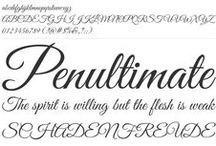 Free Fonts (for commercial use) / Handpicked free fonts for graphic designers.