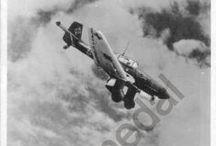 Old german postcards WWII / Viejas postales alemanas de aviones.