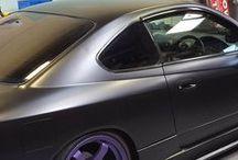 Car Tinting / Car window and headlight tinting  www.evowrap.co.uk