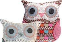 Ugler / Owls / Produkter med ugleform.
