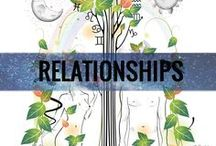 RELATIONSHIPS / Let's get more in tune with the beautiful & complicated sides of love. Learn how the planets & the signs, our stars & elements all have a direct influence in our relationships.