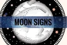 MOON SIGNS / Everybody knows what their Sun Sign is but the Moon Sign is almost always missed. The sign and placement of our Moon can be more important than the Sun because it describes who we are behind closed doors. Learn more about each of the 12 Moon Signs here.