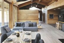 Intérieurs // Interior spaces / by Sandrine Design