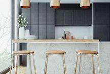 Cuisine // Kitchen / by Sandrine Design