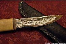 """- """"Ferri"""" - Fixed Blade knife / Il Coltello come strumento, oggetto da collezione.....compagno di avventure///// / by Nicola Bonamini"""