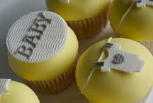 Christening & Baby Cakes / Cakes and Cupcakes for Baby Showers, Baby Birthdays and Christenings.