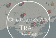 Cheddar & Ale Trail / With its rich agricultural land, the Bay of Quinte Region has been long-known for its apples, barley, hops and it's special relationship with cheese. Take a drive down our picturesque country roads and enjoy award-winning artisanal cheeses, beers and ciders!