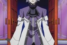 Xerxes Break - White Coat (Primary Outfit) - Pandora Hearts / Pandora Hearts - Xerxes Break - White Coat. Full cosplay reference guide here: http://cosbreaks.com/2014/06/pandora-hearts-xerxes-break-white-coat-outfit-breakdown/