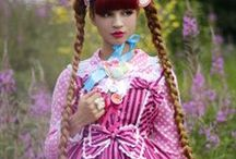 Lolita / Lolití móda a oblečky podobné lolitě