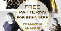 Free sewing patterns - women's clothes / Free sewing patterns for women - dresses, skirts, tops, kimonos, trousers, pants, coats, capes and so many more quality downloads!