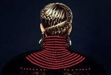 Fashion red, black / Winter fashion 2015,Dolce Gabbana, red, gold,black, headpeaces