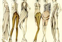 Fashion drawings & tutorials / Inspirational sketches and fashion drawings, tutorials and tips.