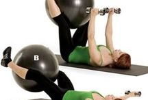 Stability Ball Exercises / exercises on the bosu ball / by cheryl frith