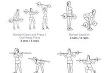 barbell workouts / by cheryl frith
