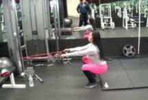 Butt exercises&hip openers / Stretching tight hips and building muscle in the glutes or just toning the glutes. / by cheryl frith