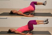 Foam Rolling for tight muscles / by cheryl frith
